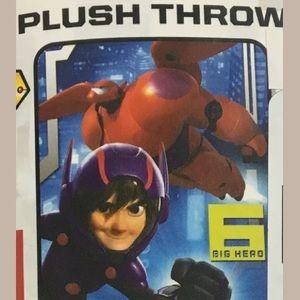 Big Hero 6 Plush Throw Blanket